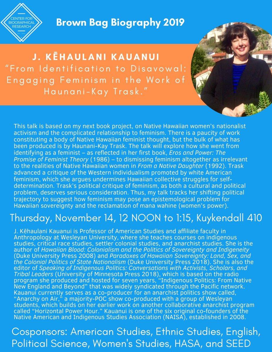 Image for the Tweet beginning: We're thrilled! Professor J. Kēhaulani