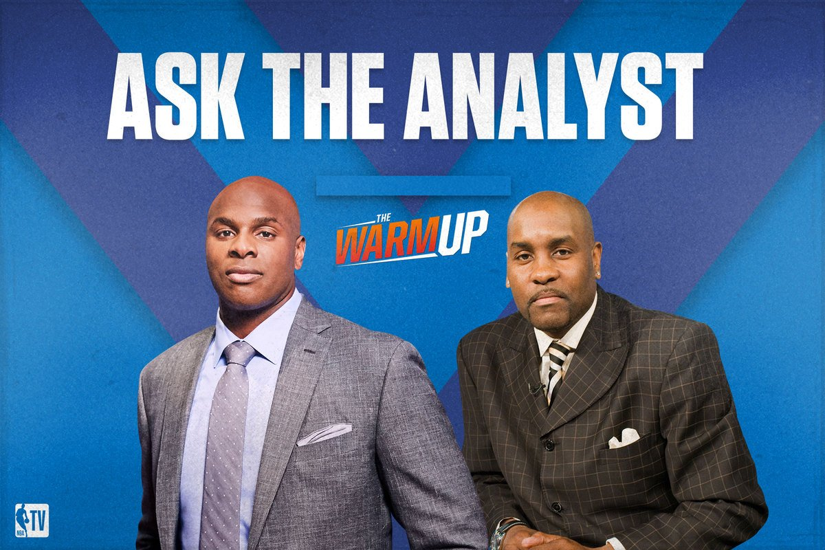 Got questions? Ask away! We've got @bwood_33 & @GaryPayton_ on #TheWarmup! 👀 6pm EST// NBA TV📺