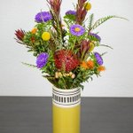 Image for the Tweet beginning: New fall floral arrangements. See