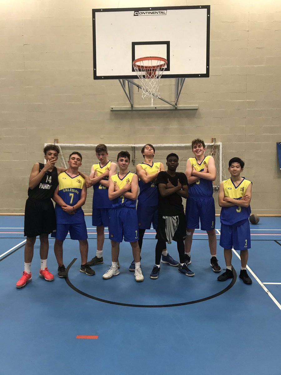 Year 11 put in a shift to win 24-17 v Fernhill tonight in the district 🏀 league @SalesianFboro #CoachCarter #tothebaseline! #Believe