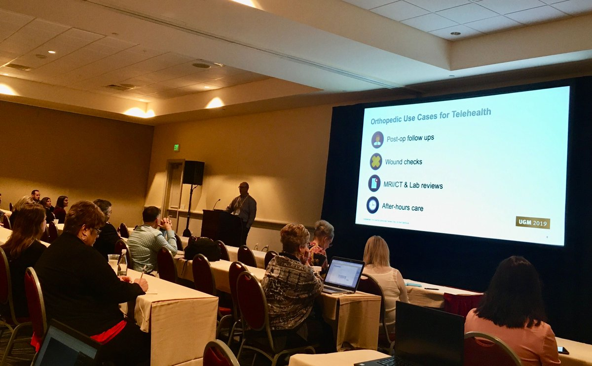 Virtual visit platform OTTO integrates seamlessly with the #NextGen EHR, saves time, money, and is wonderfully convenient for both patients and providers. A snapshot from today's #Telehealth session. #TransformingHealthcareTogether https://t.co/fM7mEXHrpv