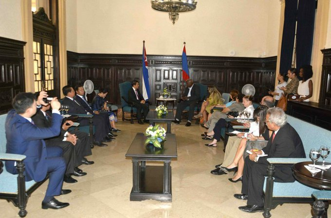 Cuba and Laos: close and solid links