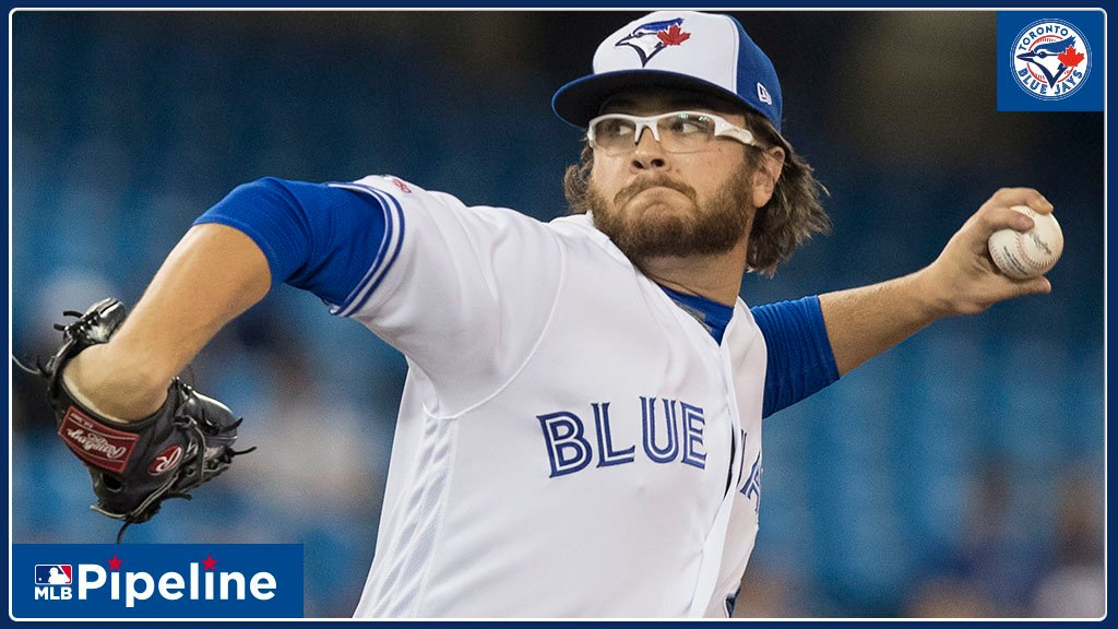 """""""He's got a chance to be a top-of-the-rotation guy. He's [Toronto's] best starter."""" @baseballexis got the scouting report on #BlueJays No. 4 prospect Anthony Kay from scouts and from Kay himself. Heres what they had to say: atmlb.com/33Jg5Qj"""
