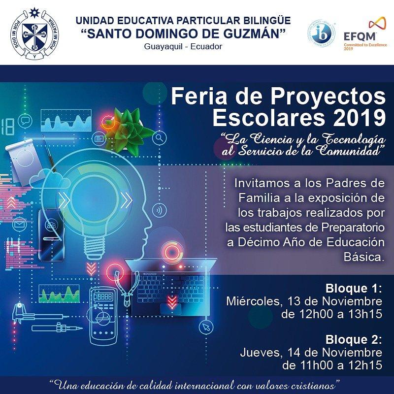 Queridos Padres estan todos cordialmente invitados. #ProyectosEscolares #EducaciónBásica #Feria