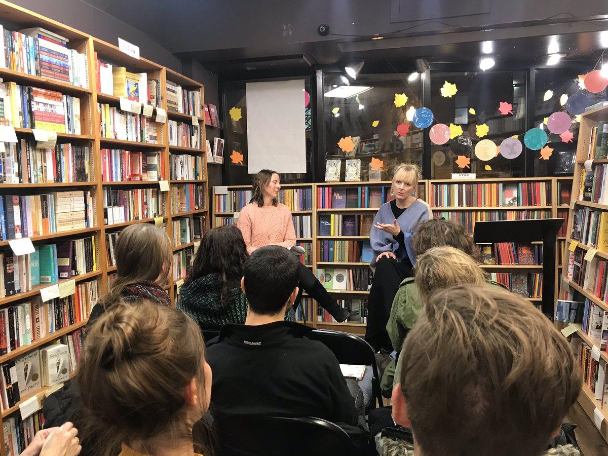 Full house to listen to @jenniferlcroft at @UnabridgedBooks #homesick