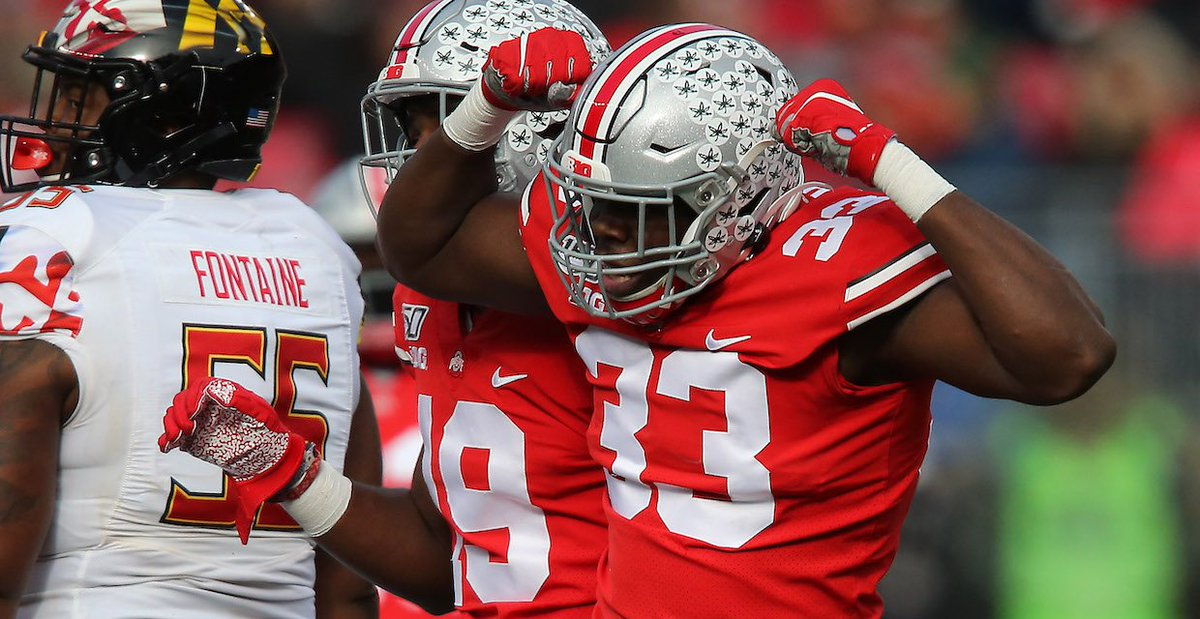 The depth and talent of #OhioState's defensive line stepped up on Saturday when the #Buckeyes needed it the most (FREE via @_Pat_Murphy)
