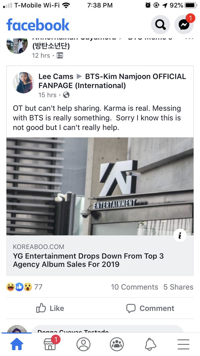Karma is a bitch ❤️ BTS PAVED the way while YG PAYED the way #blackpink #ThePeopleChooseBTS #bts #BTSPavedTheWay #LoveBTS