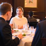 """🍽🤝 Life Skills in the real world! Last week, HPU students participated in HPU's Career & Professional Development's """"Fast Friday"""" event, where they networked with employers & tested their skills in mock interviews inside HPU's fine dining learning lab, 1924 PRIME. #HPU365"""