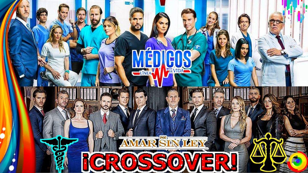 Crossover Entre #MédicosLineaDeVidaY #PorAmarSinLey #Televisa #Estreno#Médicos #PorAmarSinLey3 #Series.Vídeo https://youtu.be/JgWzpfwqMPg