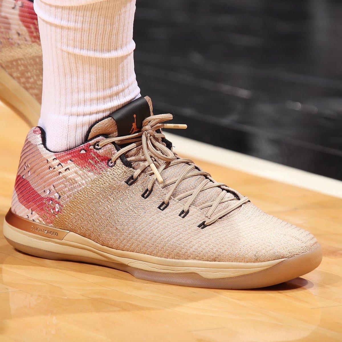 Jimmy Butler's Jordan XXXI low!   #NBAKicks #HoopsForTroops