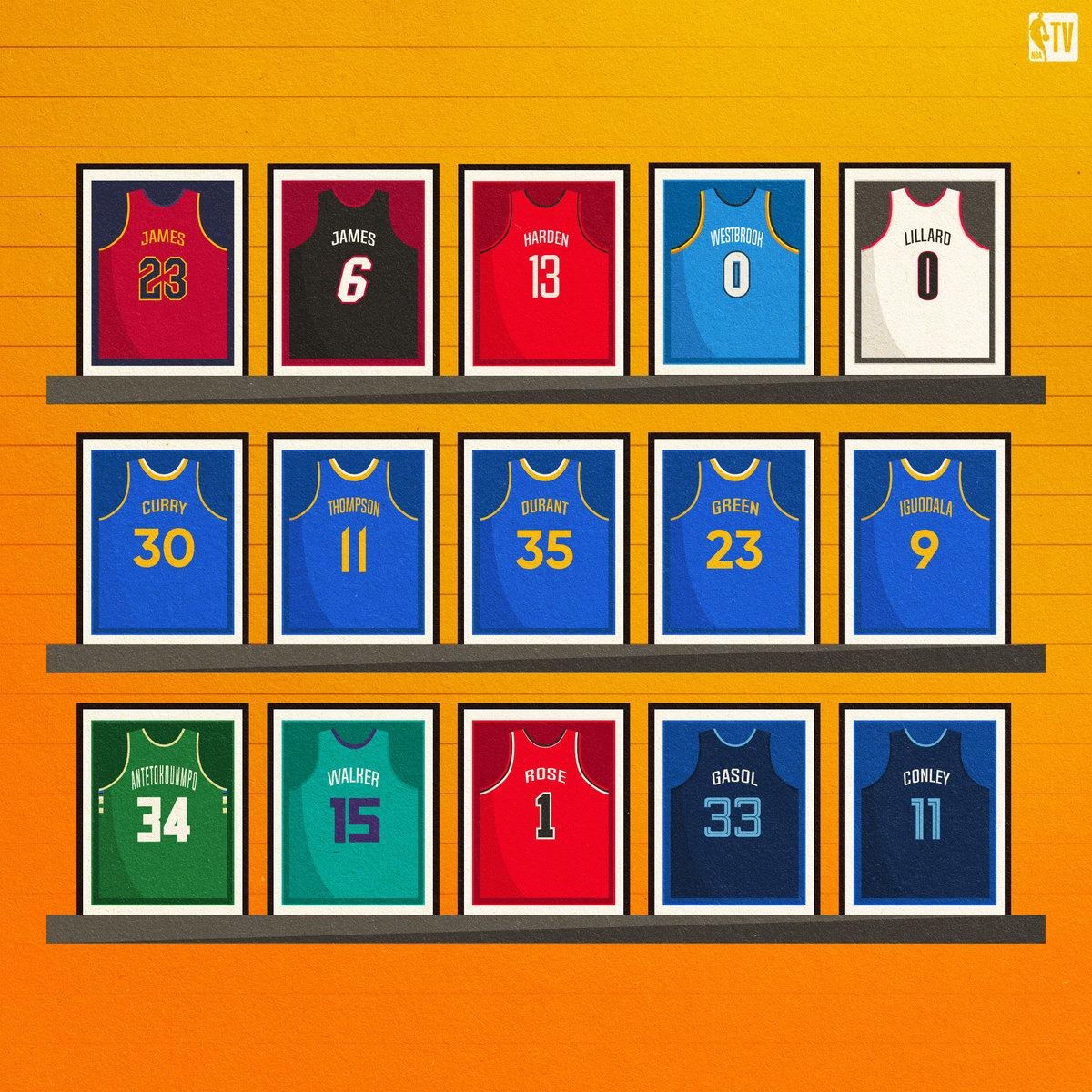 On the heels of Tony Parker's jersey retirement, https://on.nba.com/2O7x3Bb's  @SekouSmithNBA looks at 21 active ⭐️'s who should have their jersey retired someday as well. Do you agree?🤔  More: https://on.nba.com/2Qftuvp