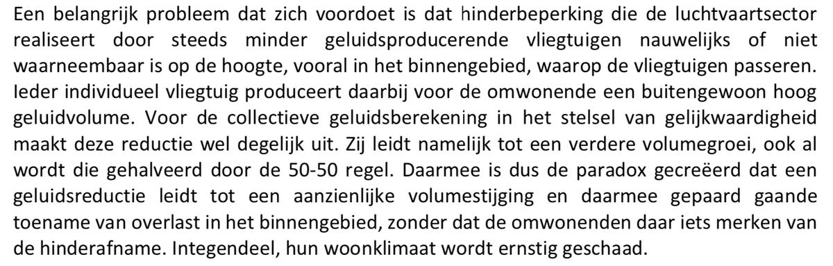 @suzanne_GL Niks sentiment. Recht van spreken. Hans Alders in zijn eindrapport over de 'paradox van hinderbeperking die leidt tot steeds meer hinder 👇#genoegisgenoeg #hetismooigeweest #wakkerwordenuitjejongensdroom https://t.co/I8aM9dsvW9