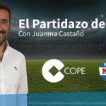 Image for the Tweet beginning: ⚽️¡Escucha el @partidazocope con @juanmacastano!  ⏰Hasta