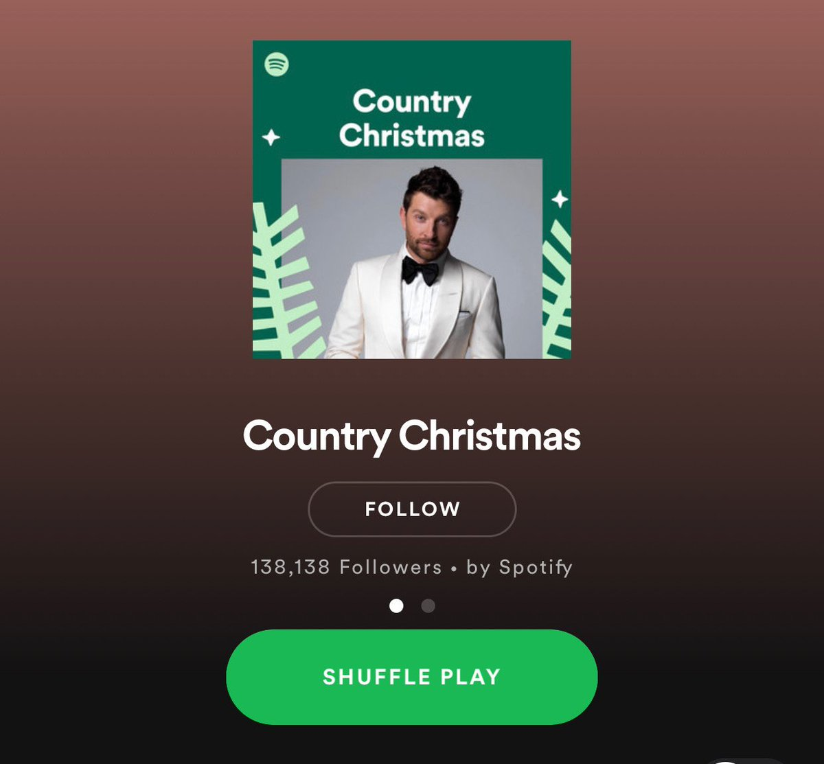 The holidays are just around the corner! Get in the spirit and listen to @Spotify Country Christmas to hear a couple of my favorite Christmas songs from my album, Its The Holiday Season. spoti.fi/2TNLP2c