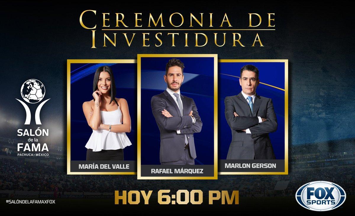 ¡NOVENA INVESTIDURA AL SALÓN DE LA FAMA!   #SalóndelaFamaxFOX No te la pierdas junto a @mariadelvalle16, @RafaMLOficial y @GersonMarlon  📺 FOX Sports  📱  App http://goo.gl/nqVGjo
