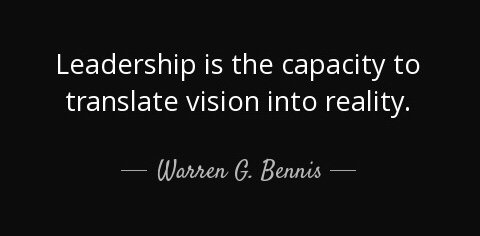 Authentic leaders know where they are going and are able to persuade other people to go along with them.