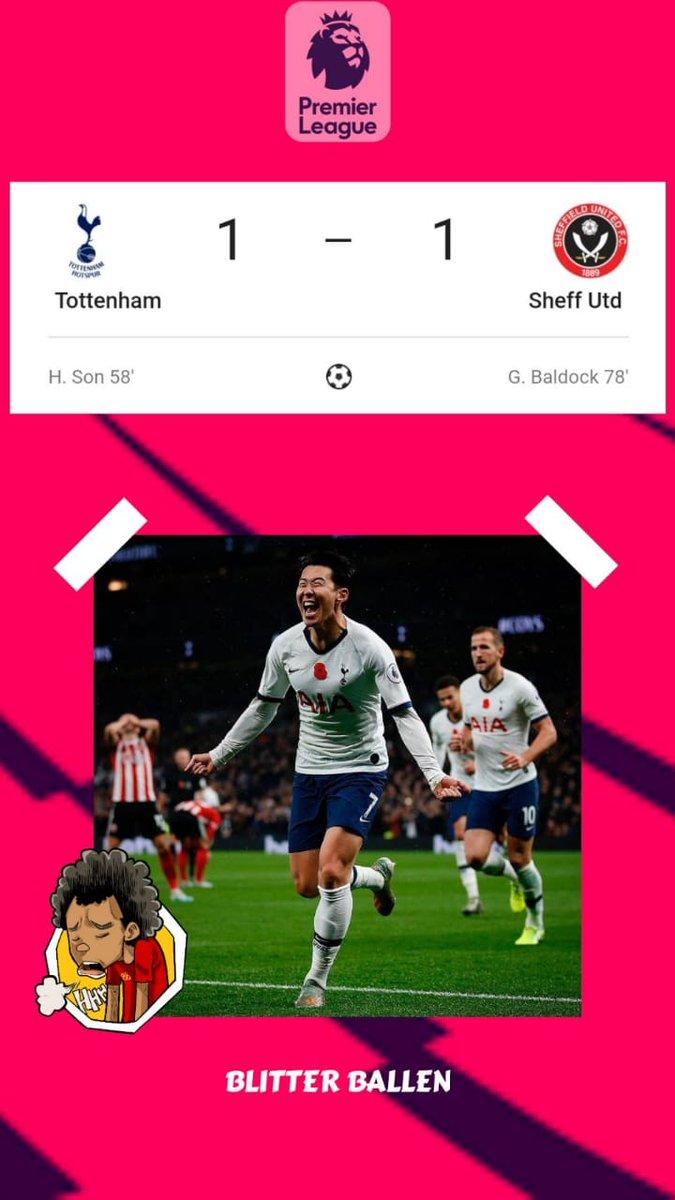 Tottenham vs Sheffield United. #TOTSHU https://t.co/w2gPyHOGdh