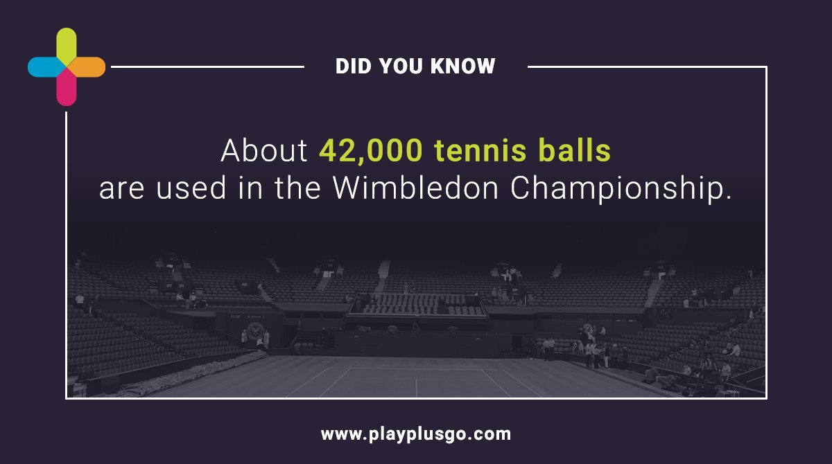 🎾 Hey #tennis lovers, we bet you did not know this fact! 🎾  Fund ➡️ Transfer ➡️ Withdrawal ➡️ Spend with Play+  Register for free: https://buff.ly/2qLrdxq   #sports #Wimbledon