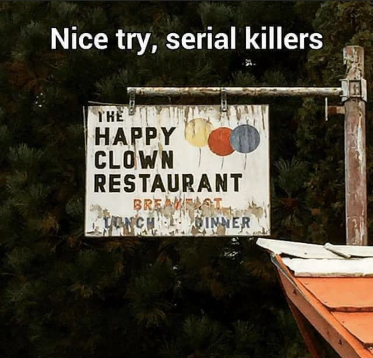 Who doesn't love a happy creepy clown? 🤡 #serialkiller #creepyclowns #iloveclowns #dontgetmurdered