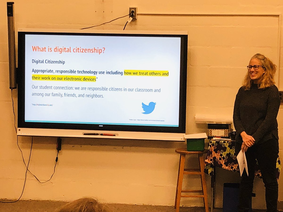 Thanks to our ITC Ms. Leichtleitner <a target='_blank' href='http://twitter.com/amteaching'>@amteaching</a> & Ms. Blaine <a target='_blank' href='http://twitter.com/JamestownReads'>@JamestownReads</a> for their informative presentation on internet safety and technology at our <a target='_blank' href='http://twitter.com/JamestownESPTA'>@JamestownESPTA</a> meeting. <a target='_blank' href='https://t.co/2mLU1RYIAB'>https://t.co/2mLU1RYIAB</a>