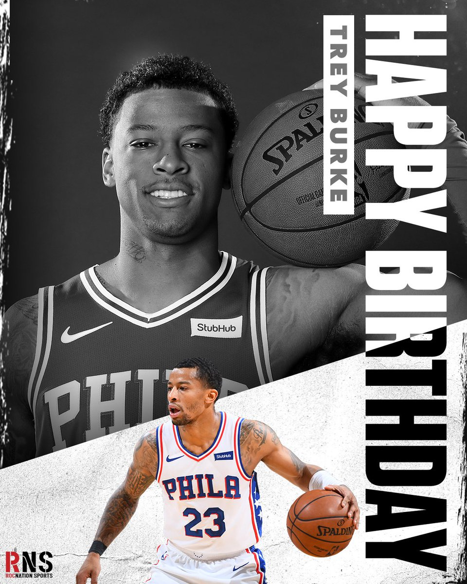 From Columbus to Philly, raise one up for @TreyBurke. Happy Birthday, Trey! 🥳