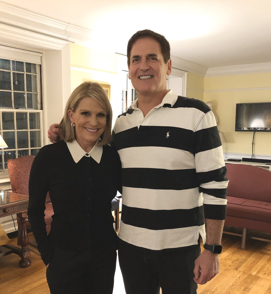 Great to hear @mcuban secrets to success in life and business at @harvardiop