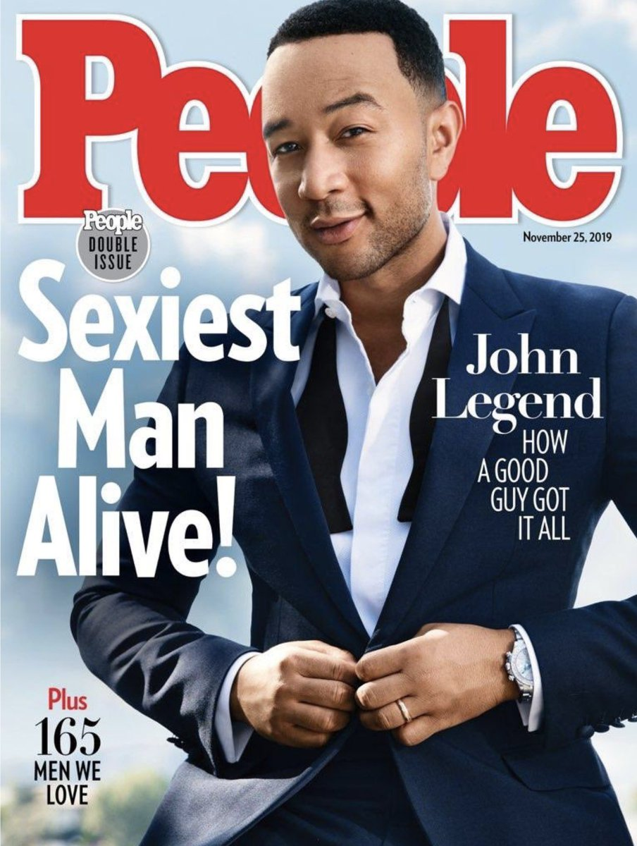 @chrissyteigen's photo on Sexiest Man Alive