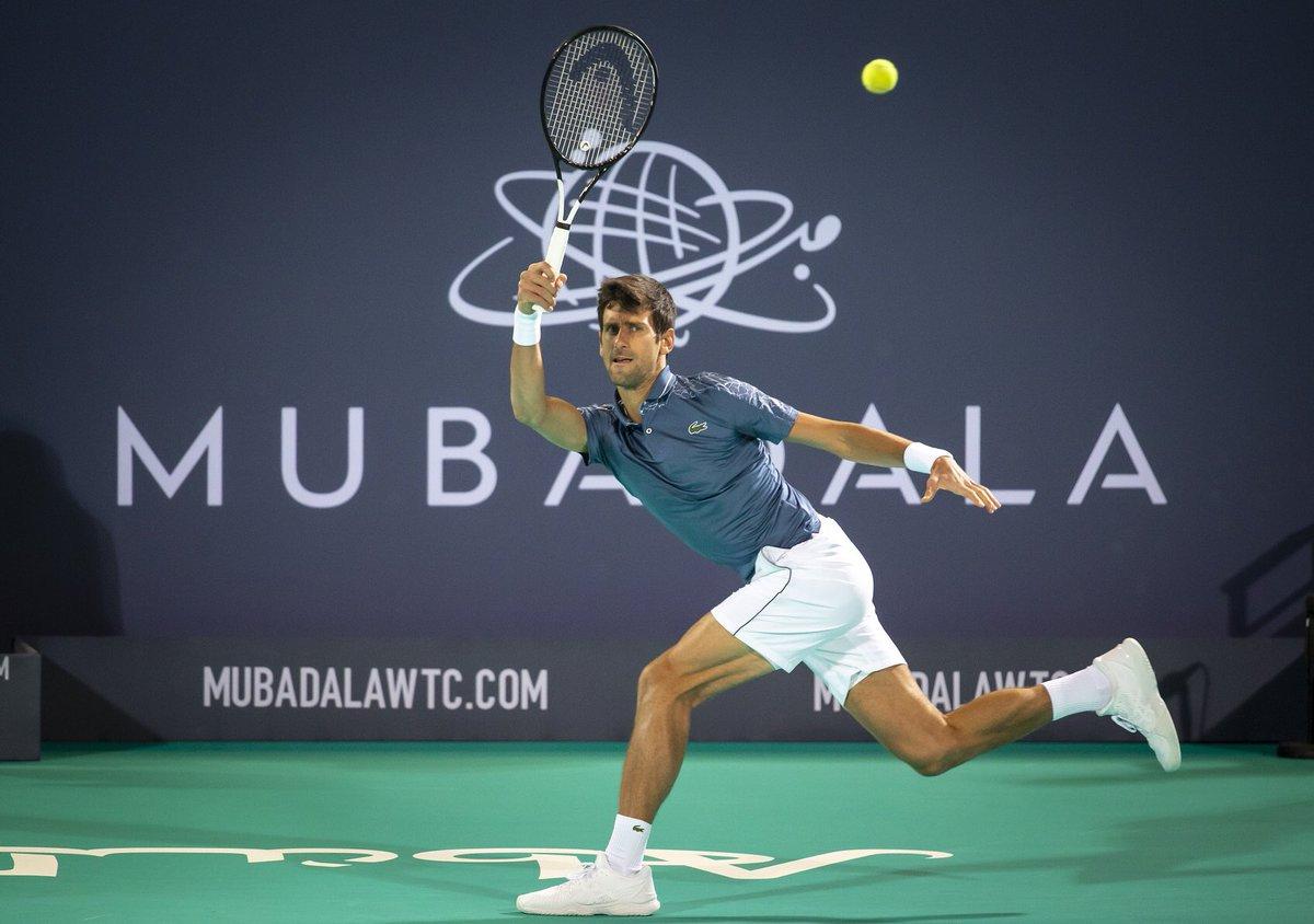 Джокович, Надаль и Медведев сыграют на выставочном турнире в Абу-Даби