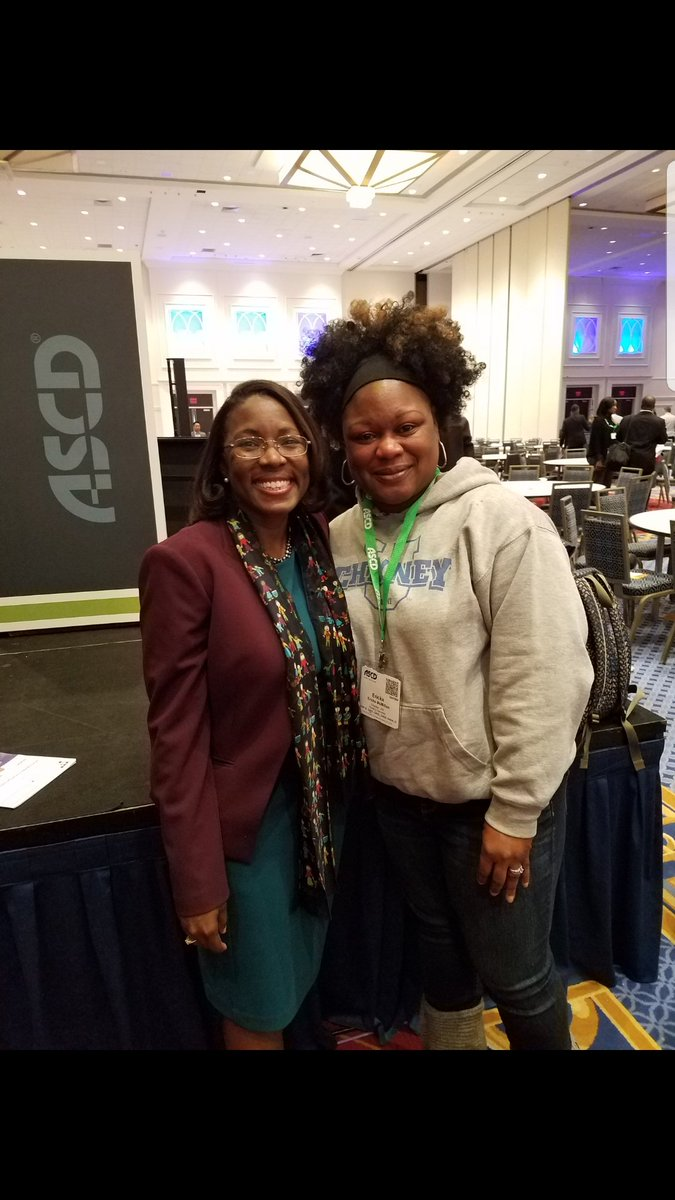 So glad my admin team sent me to the ASCD Conf! I was inspired and reminded why I do this work! #ASCDCEL #ASCD