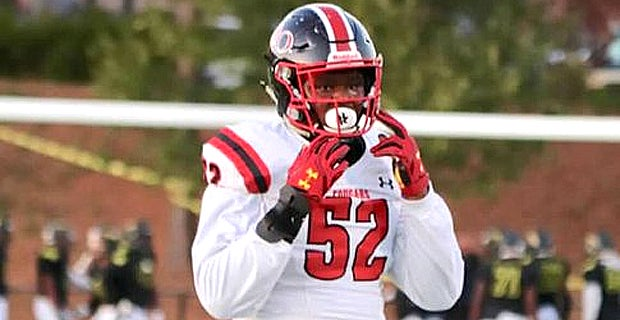 A D-tackle offered by #OhioState praises coach Larry Johnson and is ready for third visit soon (VIP via @Bill_Kurelic)