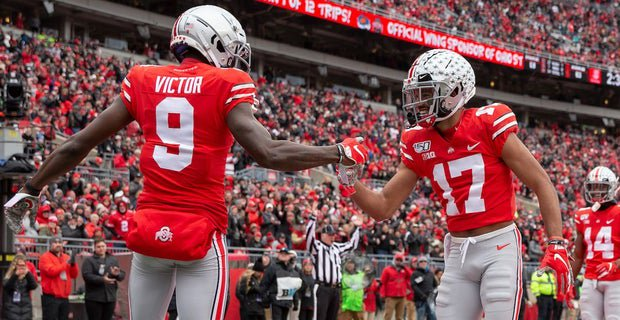#OhioState lost the No. 1 spot in the #CFBPlayoff rankings tonight. But if the #Buckeyes keep winning like they have all season, they will be No. 1 when it matters the most (FREE via @_Pat_Murphy)