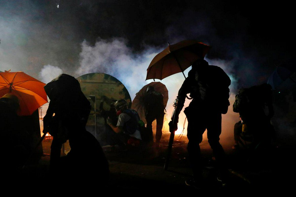 Hong Kong readies for more chaos as violence spreads citywide - Reuters
