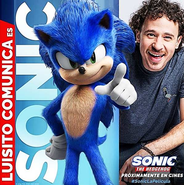 Image result for sonic the hedgehog movie promotional image instagram