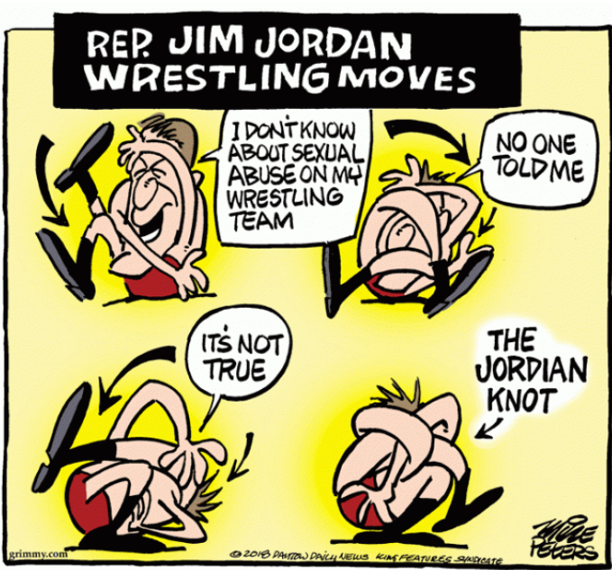 @WatchingWhatYou I'm hoping to see #GymJordan in knots tomorrow~