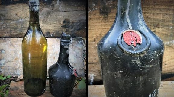 Treasure hunters salvaged liquor from a 102-year-old WWI shipwreck, but havent tasted a drop - Top Tweets Photo