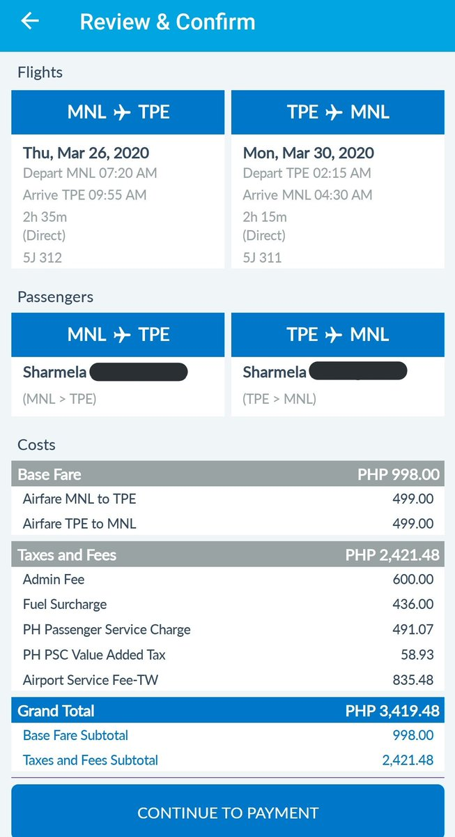 UGH! This is the reason why you shouldn't look for flight ticket prices after you already booked one  But #SharingIsCaring  For those who plan to go to Taipei stop of #GOT7_KEEPSPINNING  CEBPAC is still on sale  3k+ only for RT tix on dates, March 25-30 and 26-30  <br>http://pic.twitter.com/FFls3fuSUI