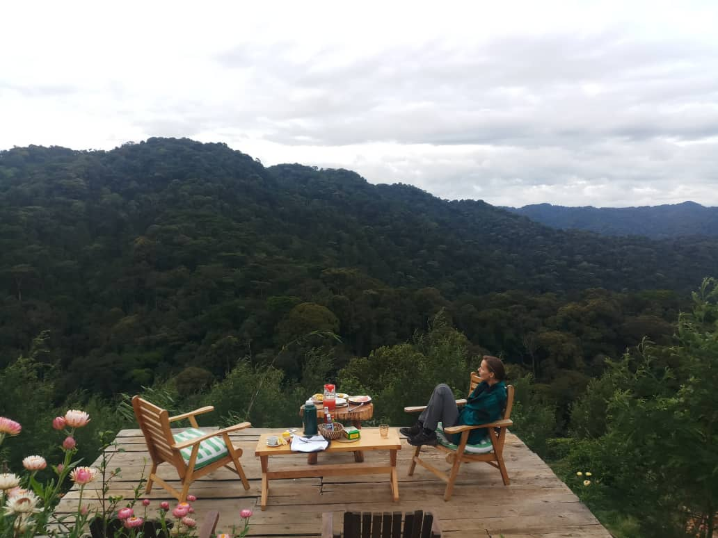 Enjoying the  cool lush backdrop of Bwindi Impenetrable National https://t.co/3KyC2rHXmw with us for all kinds of memorable safaris https://t.co/RBQfgd9g5j #Ugandasafaris #safarisUganda #Ugandasafari #safariUganda #Ugandatours #tourUganda #toursUganda #Ugandatour #visitUganda https://t.co/vL16p2si2l