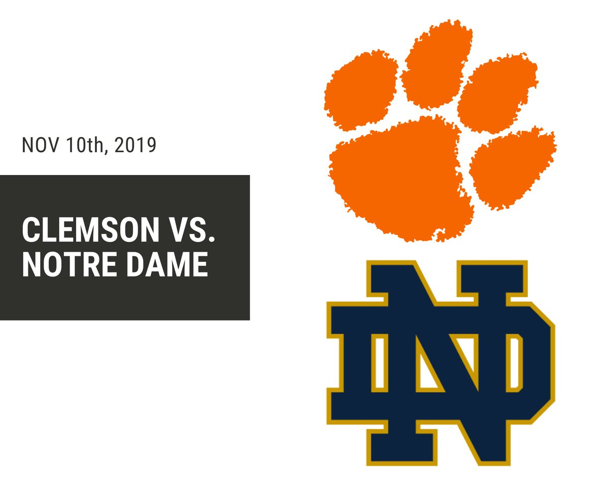 Check out the new post covering last Sunday's ACC quarterfinal soccer match between the Clemson Tigers vs the Notre Dame Fighting Irish! Link in the description!