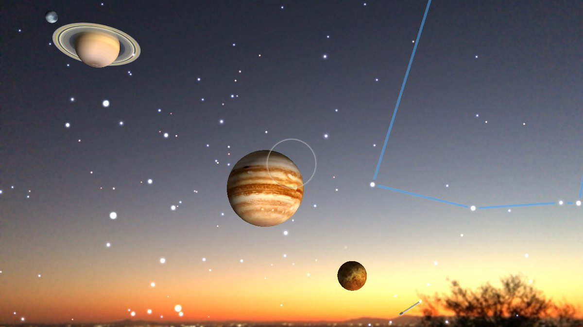 What planets can be seen without a telescope
