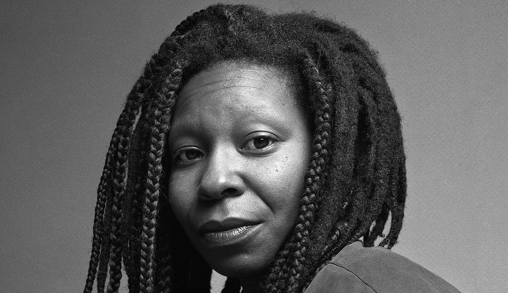 """""""We're here for a reason. I believe a bit of the reason is to throw little torches out to lead people through the dark."""" Happy birthday to the sublime Whoopi Goldberg, an artist whose boundless and versatile talent has made us laugh and moved us immeasurably for so many years! 👑"""