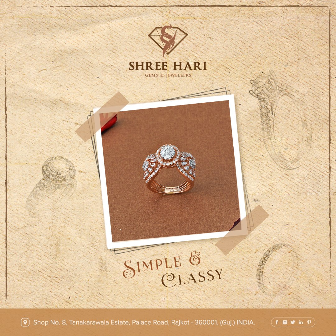 Simple & Classy . . . #ShreeHari #ShreeHariJewellers #Jewellers #Collection #Gold #Silver #JewelryArt #GoldJewellery #Jewellery #Fashion #Gold #Bracelet #Jewels #Style #Accessories #Love #Ring #Wedding #FashionJewelry #Necklace #Earrings #Trendsetter #OnTrend #ILoveJewelry