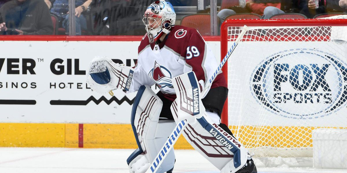 Avs Werner credits great karma after 40-save win in surprise debut. thesco.re/2NFpZwJ
