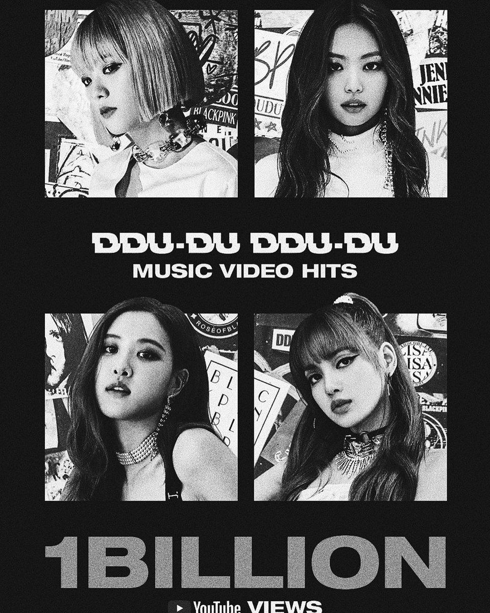 #BLACKPINK뚜두뚜두1BILLION #sooyaa__ #jennierubyjane #roses_are_rosie #lalalalisa_m #BLINKs https://t.co/zgtaZT9yNi