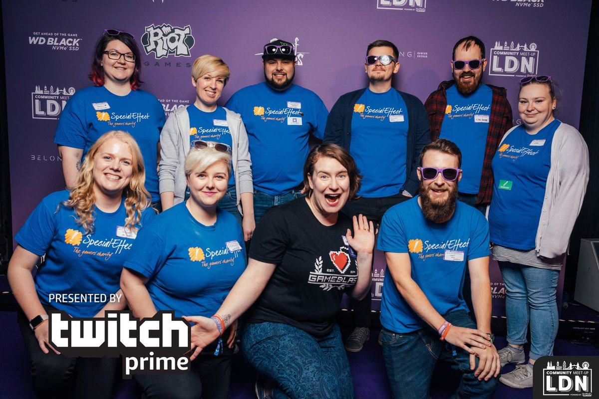 We're heading to #TwitchLDN  with some of our awesome volunteer squad this Saturday! Hands up if we'll see you there!
