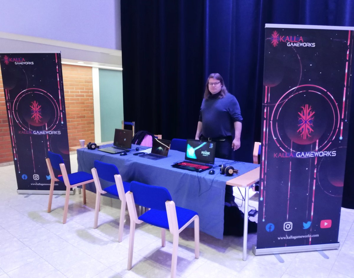 Come try out our demos for upcoming games! #kuopionmusiikkikeskus #kuopionkaupunki #minigameexpopic.twitter.com/3f3YLNdiG8