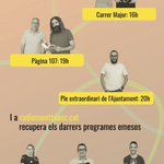 Image for the Tweet beginning: Avui a @radio_montblanc   📍 16h: