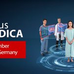Image for the Tweet beginning: Meet us at #MEDICA, where
