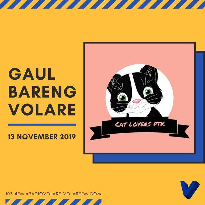 Gaul Bareng Volare: Cat Lovers Pontianak