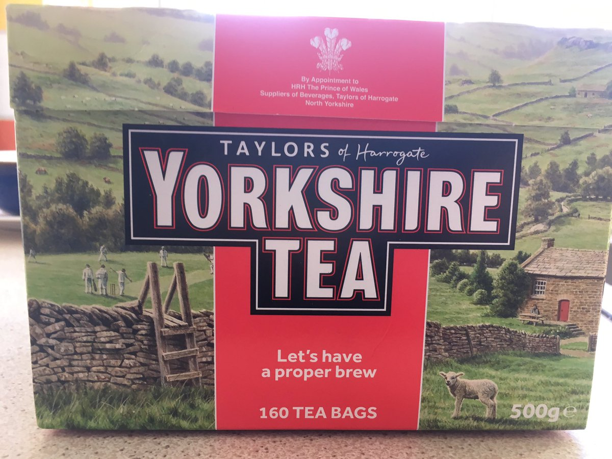 Unfortunately I heard on the BBC that these teabags contain #plastic  ! Why on Earth are #tea  companies still doing this? Can't be composted or recycled #plasticwaste  & #plasticpollution  are the scourge of this precious planet 🌍