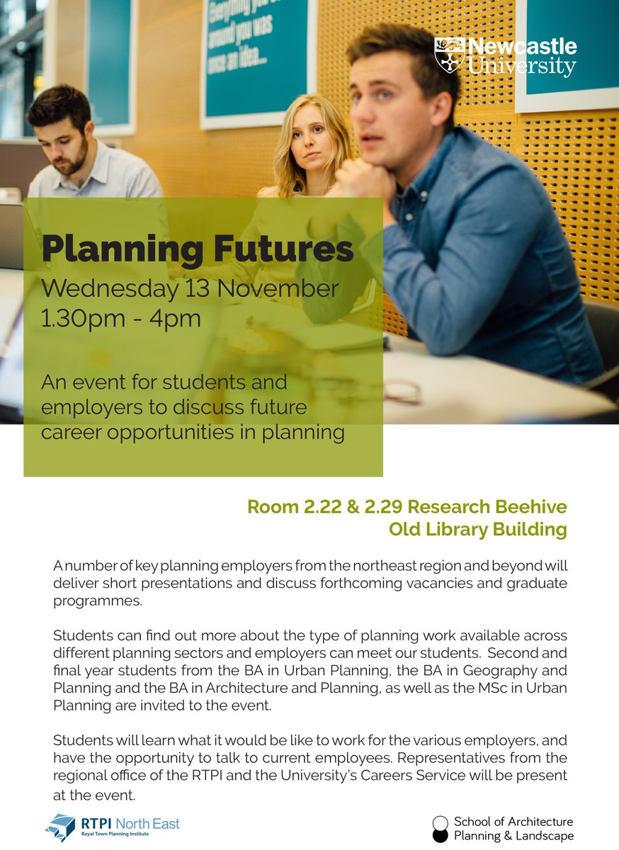 Emma and Victoria are in #Newcastle today to talk to graduates about our job opportunities in #planning and #urbandesign @NewcastleUniAPL @nclcareers